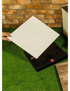 Tente 4x4m avec 1 mur imprimé